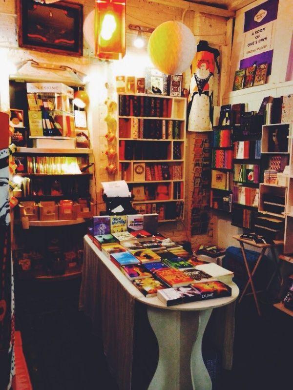 Camden Market bookstore!