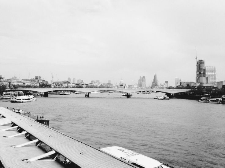 The view from Embankment