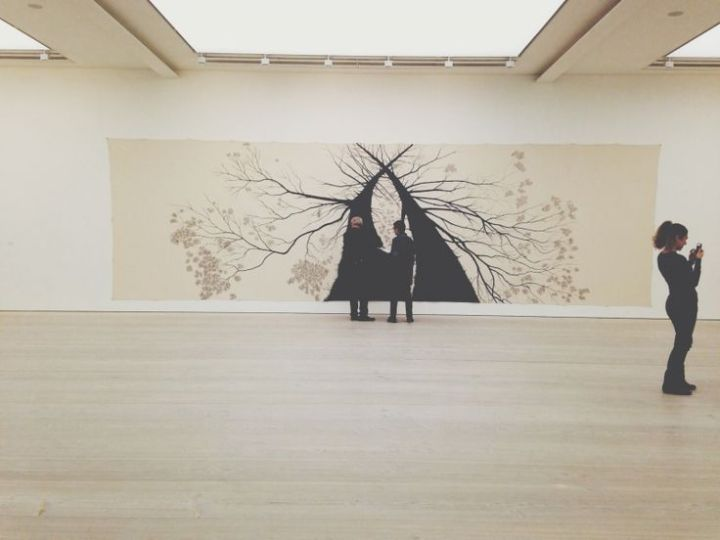 A Gallery at the Saatchi Gallery