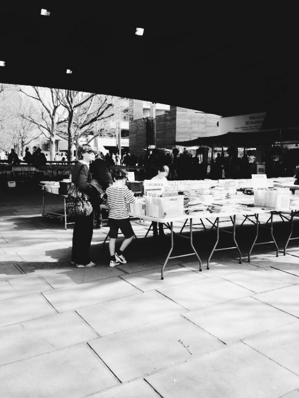 Southbank Centre's bookstalls
